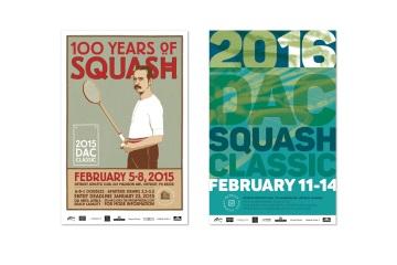 DAC squash posters