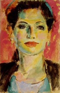 gillies_expressionist lady