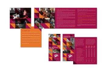 JazzFest fundraising materials