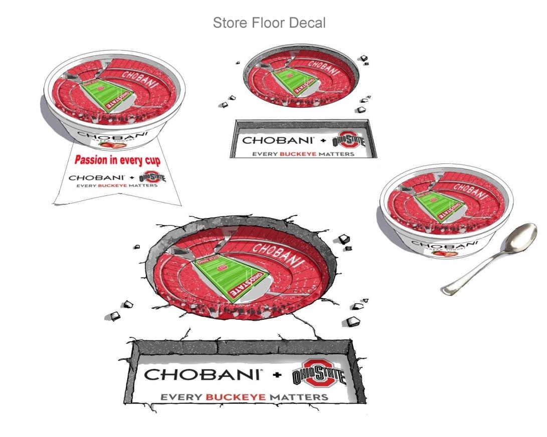 Floor decal Comps