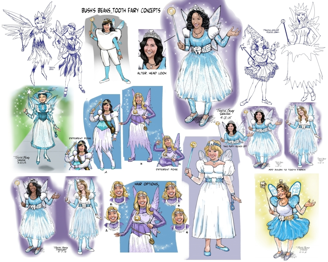Tooth Fairy Concepts