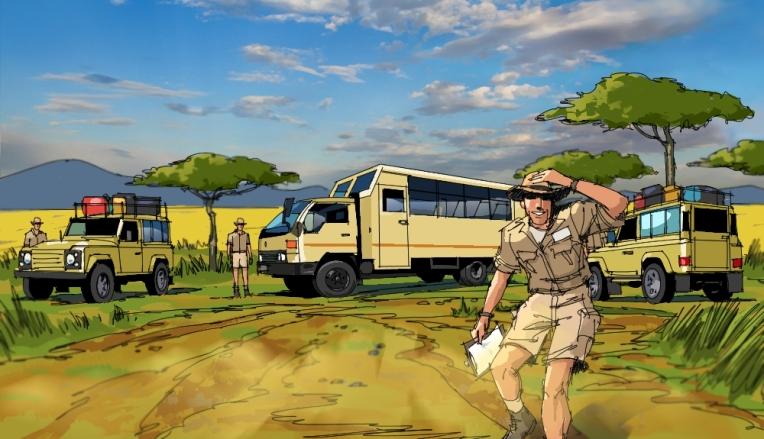 Mission Maasai, storyboard, Africa, Mission Maasai