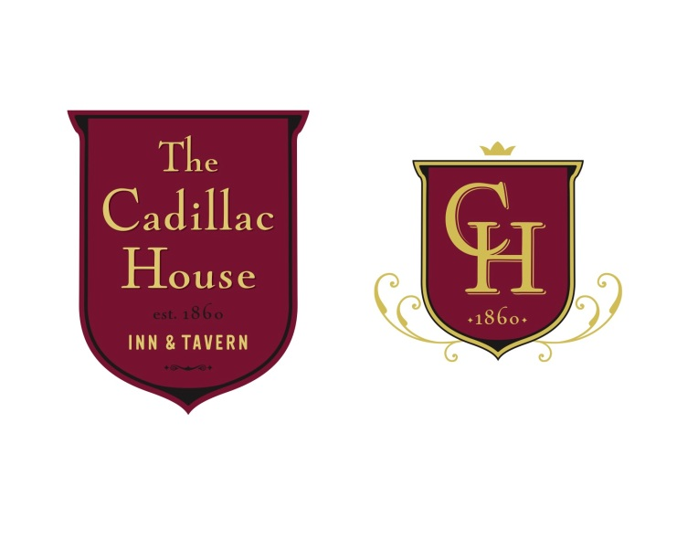 Logo, Cadillac house, design