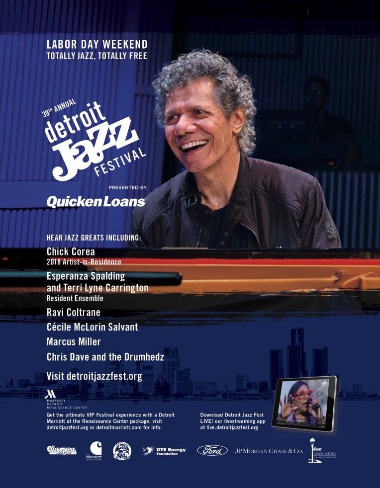 Detroit Jazz Fest, Design, Poster, Quicken loans