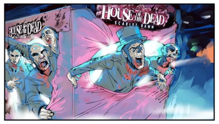 house of the dead 30 one frame