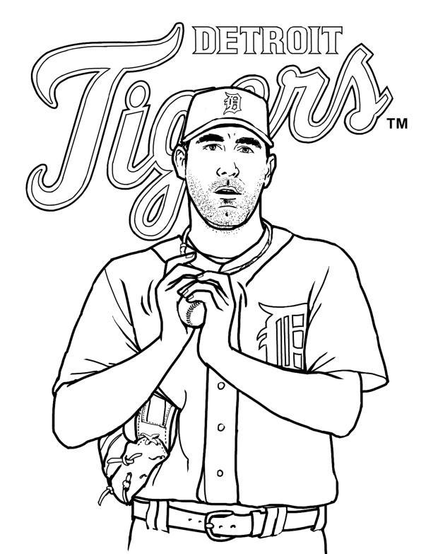 Verlander, Baseball, Tigers, Detroit Tigers